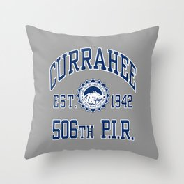 Currahee Athletic Shirt Throw Pillow