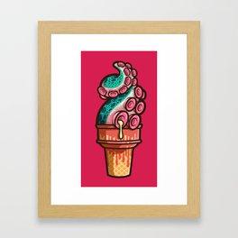 Swirly Tentacle Treat (gumdrop) Framed Art Print
