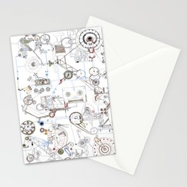noise mashine Stationery Cards