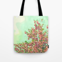 Happy Springtime Tote Bag