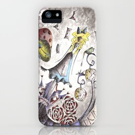 We're All Mad iPhone Case