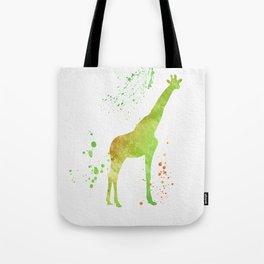 Giraffe 021 Tote Bag