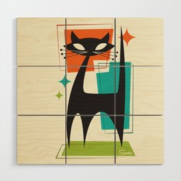 Mister Whiskers Wood Wall Art