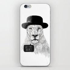 Say my name iPhone Skin