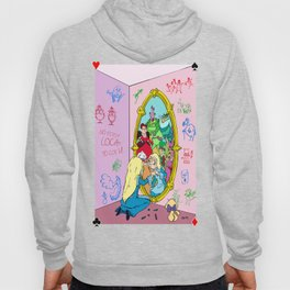 Alice Through the Looking Glass Hoody