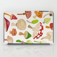 mushrooms iPad Cases featuring Mushrooms by Cat Coquillette