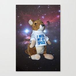 I need my space plush kangaroo Canvas Print