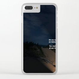 Snipes Clear iPhone Case