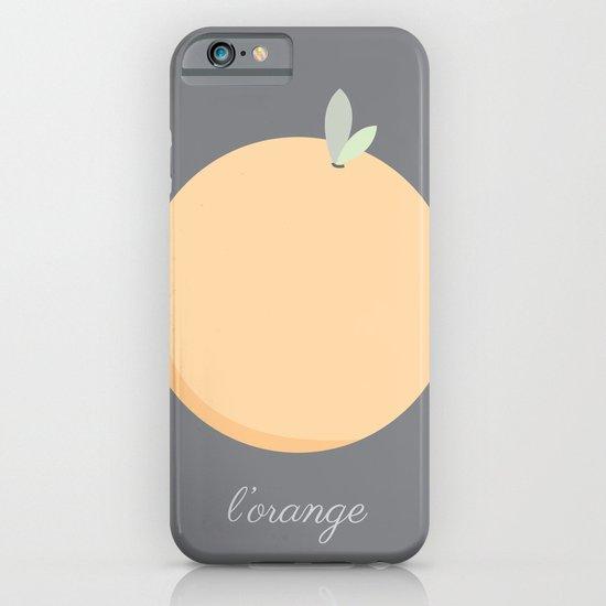 L'orange iPhone & iPod Case
