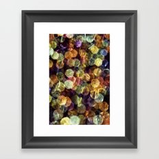 colorful abstract Framed Art Print