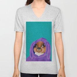 Bunny Ears Unisex V-Neck