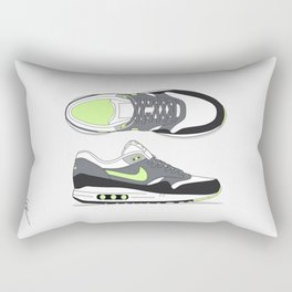 Air max essential 1 yellow/gray #2 Rectangular Pillow