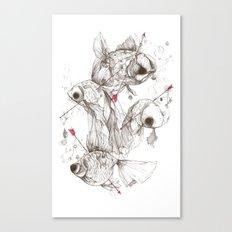 Fishcakes & Remedies Canvas Print