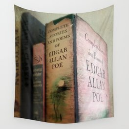 Pink Poe Wall Tapestry