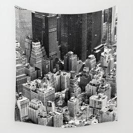Manhattan Skyline Wall Tapestry