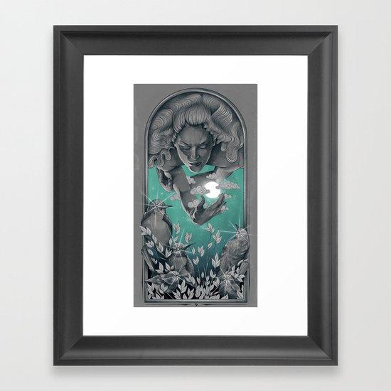 The Bird Keeper Framed Art Print