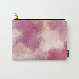 Mauve Dusk Abstract Cloud Design Carry-All Pouch