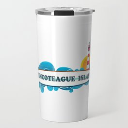 Cherry Grove Beach - South Carolina. Travel Mug