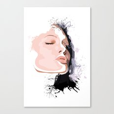 Woman Portrait  Canvas Print