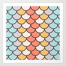 Color Twist Art Print