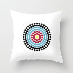 Olympic - Bullseye Throw Pillow