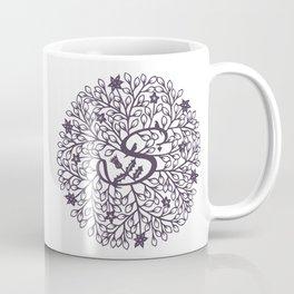 S - monogrammed initial S print Coffee Mug