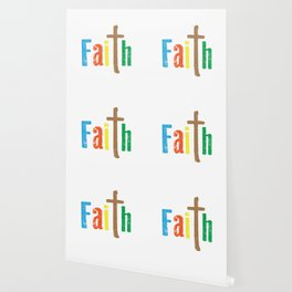 A Great gift for everyone who have faith in God Strong & fearless person believe the power of faith. Wallpaper