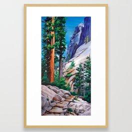 Tokopah Falls Framed Art Print