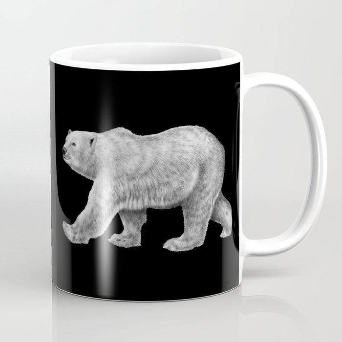 Polar Bear Coffee Mug By Timjeffsart