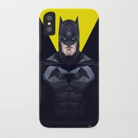 bat man iPhone & iPod Cases featuring Bat man by Muito
