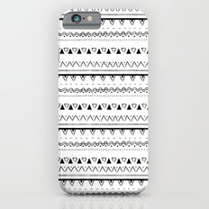 White&Black pattern Slim Case iPhone 6s