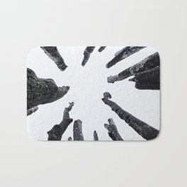 Circle of Trees Bath Mat