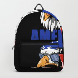 Funny 18th Birthday - USA Eagle Gift Backpack