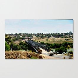 Tailem Bend Bridge over the Murray River Canvas Print
