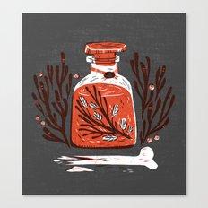 Symbol Jar Canvas Print