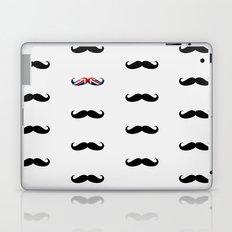 Union Jack Mustache Laptop & iPad Skin