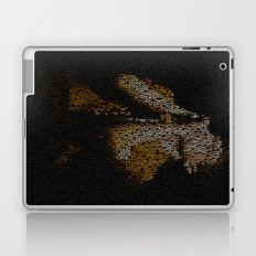 Ian Curtis : Unknown Pleasures Laptop & iPad Skin