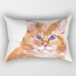 Tiger Rose Rectangular Pillow
