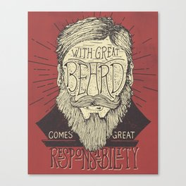 The Beard Canvas Print