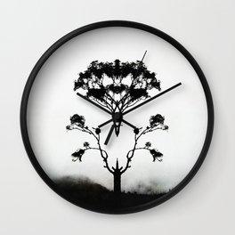 Wings of Solitude Wall Clock