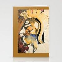 roman Stationery Cards featuring Roman by Ecsentrik