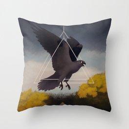 Storm Kite Throw Pillow