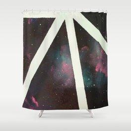 Deep Space Shower Curtain