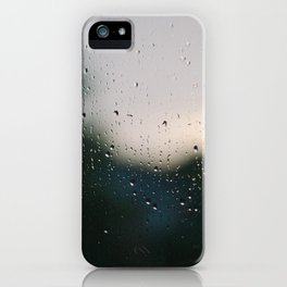 Rainy Downs iPhone Case