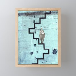 Time Rabbit Framed Mini Art Print
