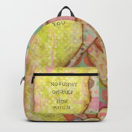 Nobunny Gnomes Backpack