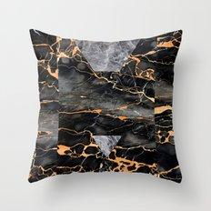 Molten Stone Throw Pillow