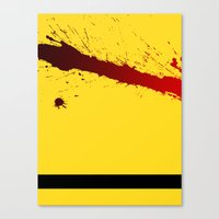 kill bill Canvas Prints featuring Kill Bill by Electric Avenue