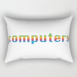 Computers Rectangular Pillow