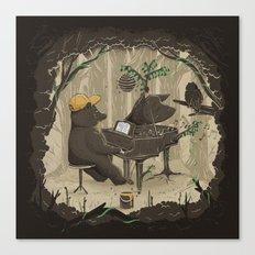 Forestal Sounds Canvas Print